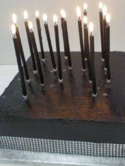 Black Cake Candles
