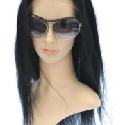 Black Lace Front Wig – Brazilian Virgin Hair