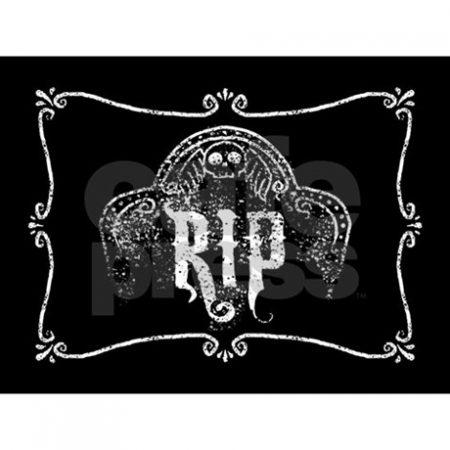 RIP Greetings Card
