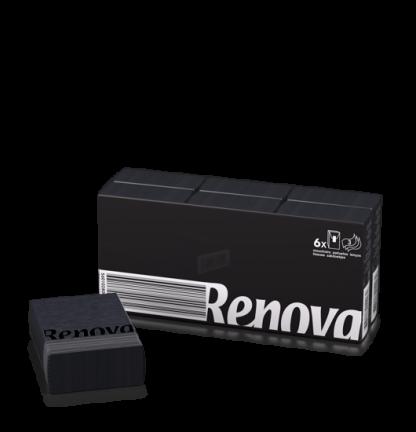 Renova Black Pocket Tissues