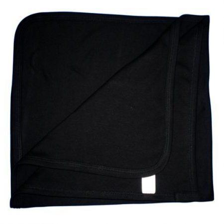 Soft Cotton Baby Blanket – Black