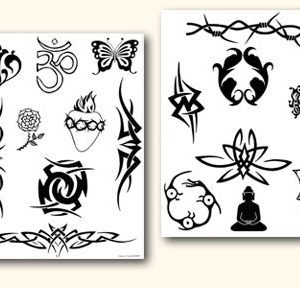 Temporary Tattoo Jagua Gel Natural Fruit Dye