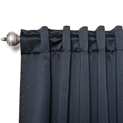 Thermal Blackout Curtains – Black