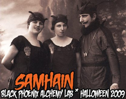 Samhain 2009 Black Phoenix Alchemy Lab Perfume Oil