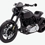 KRGT-1 Motorcycle Black