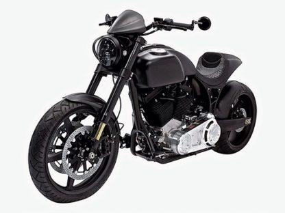 KRGT-1 Motorcycle Black