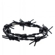 Leather Barbed Wire Choker