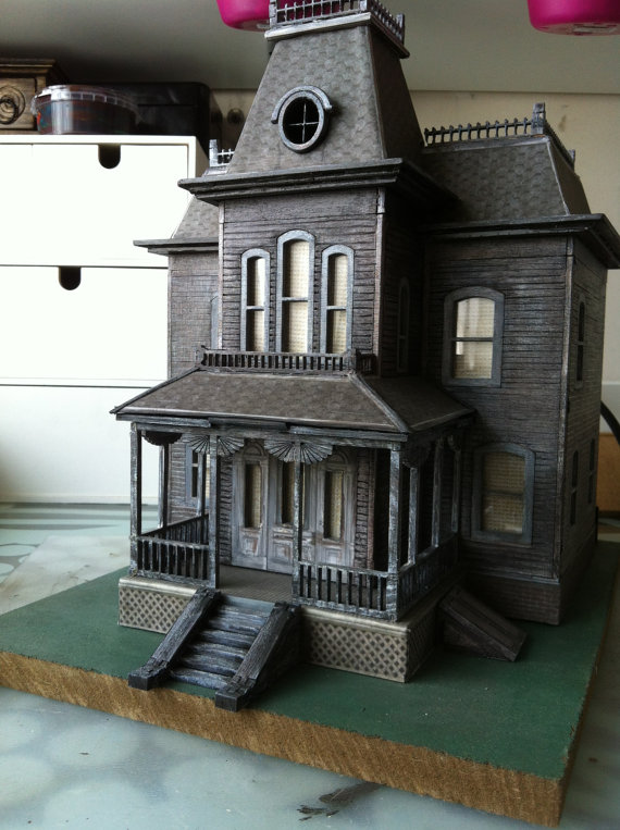 Bates Motel Wooden Model House I Want It Black