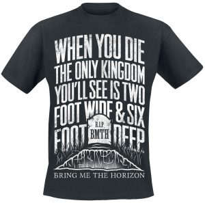 Bring Me The Horizon House of Wolves Lyric T-Shirt