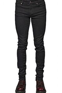 Lip Service Mens Black Skinny Jeans