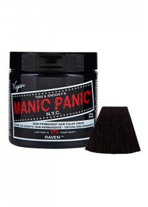 Manic Panic Raven Semi-Permanent Hair Color Dye