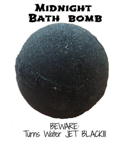 Black Bath Bomb
