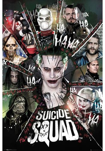 Circle Suicide Squad Poster