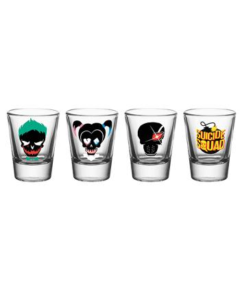 Suicide Squad Shot Glasses Set