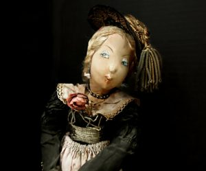 Vintage Antique Hand Crafted Victorian Doll
