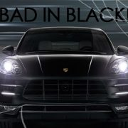BOTB Bad In Black Porsche