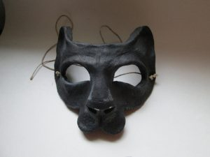 Black Panther Big Cat Mask