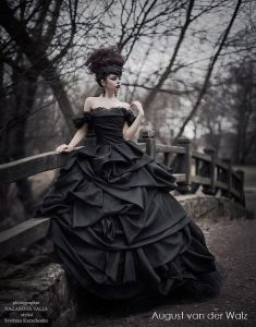Black Wedding Dress Anna Karenina Collection