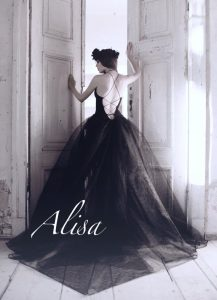 Black Wedding Dress Kristen Collection Alisa 2016