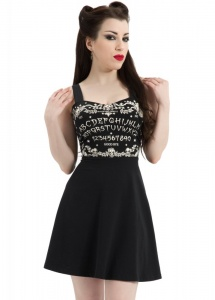 Jawbreaker Clothing Ouija Psychobilly Skater Dress