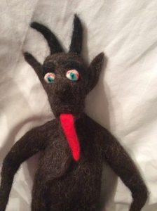 Krampus Handmade Figure