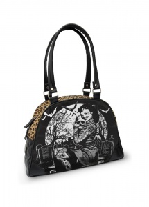 Liquorbrand Graveyard Psychobilly Pin Up Girl Bowling Bag