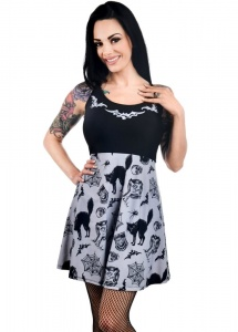 Too Fast Vintage Graveyard Ginger Dress