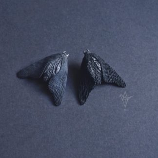 Black Moth Brooch