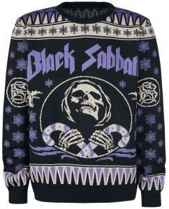Black Sabbath Christmas Holiday Sweater