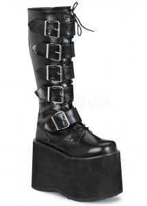 Demonia Mega 618 Goth Platform Boots