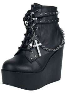 Demonia Poison 101 Ankle Boots