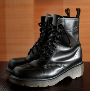 Dr Martens Vintage 90's Made In England 8 Eyelet Boots