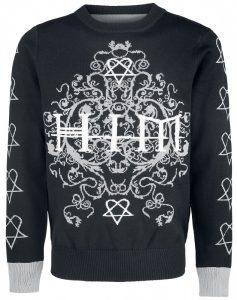 Black Sabbath Christmas Sweater.Holiday Sweaters I Want It Black