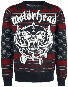 Motorhead Christmas Holiday Sweater 2017