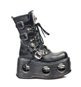New Rock M.373-S2 Goth Platform Boots