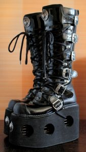 New Rock NEPTUNO Platform Goth Boots