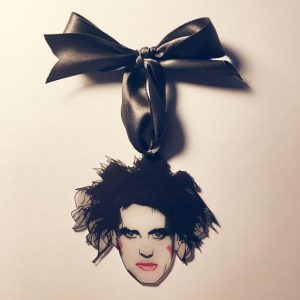 Robert Smith The Cure Gothic Christmas Tree Ornament