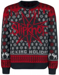 Slipknot Christmas Holiday Sweater 2017
