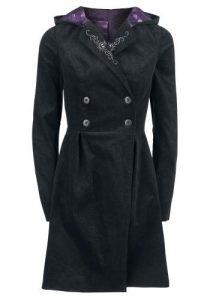 The Nightmare Before Christmas Black Hooded Corset Coat