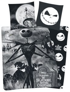 The Nightmare Before Christmas Jack Bed Linen