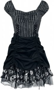 The Nightmare Before Christmas Jack Pinstripe Dress