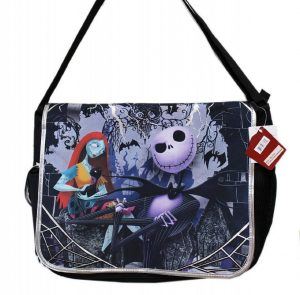 the nightmare before christmas large messenger bag