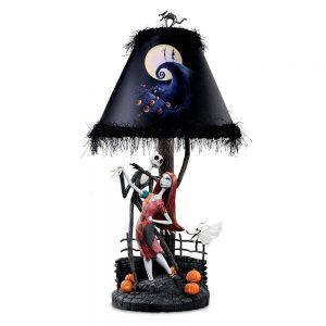 The Nightmare Before Christmas Jack Sally Table Lamp
