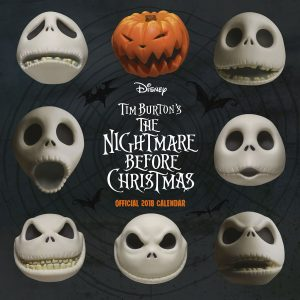 The Nightmare Before Christmas Official 2018 Calendar