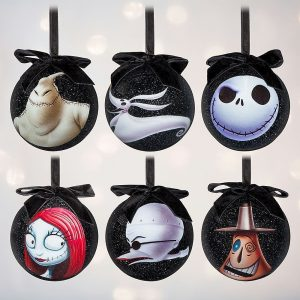 Tim Burton's The Nightmare Before Christmas Sketchbook Ornament Set