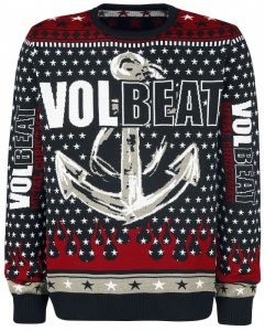 Volbeat Christmas Holiday Sweater 2017