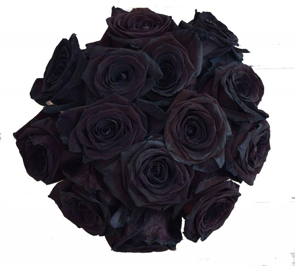 поблагодарил службу черная роза букет фото они