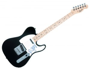 Robert Smith The Cure Autographed Signed Fender Tele Guitar