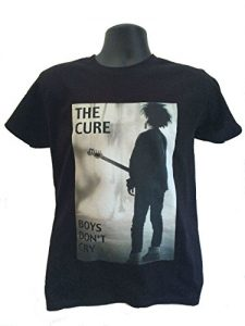 Robert Smith The Cure Boys Don't Cry T-Shirt - Black