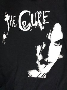 Robert Smith The Cure New Old Stock Retro Black T-Shirt S M L